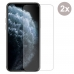 Premium Tempered Glass Film Screen Protector Set with Screen, Back and Camera Lens for Apple iPhone 11 Pro (Pack of 2pcs)