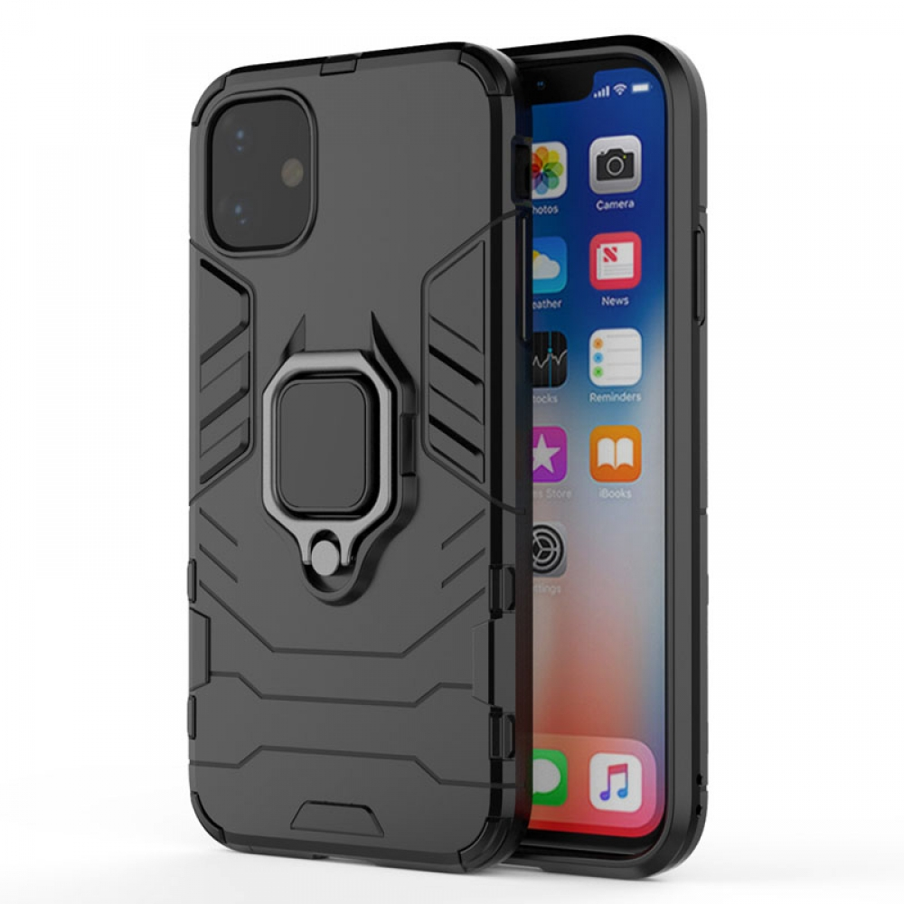 10% OFF + FREE SHIPPING, Buy the BEST PDair Premium Protective Carrying iPhone 11 Armor Protective Case With Metal Magnetic Ring (Black). Exquisitely designed engineered for iPhone 11.