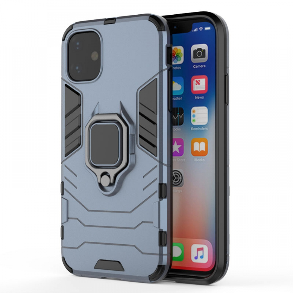 10% OFF + FREE SHIPPING, Buy the BEST PDair Premium Protective Carrying iPhone 11 Armor Protective Case With Metal Magnetic Ring (Blue). Exquisitely designed engineered for iPhone 11.