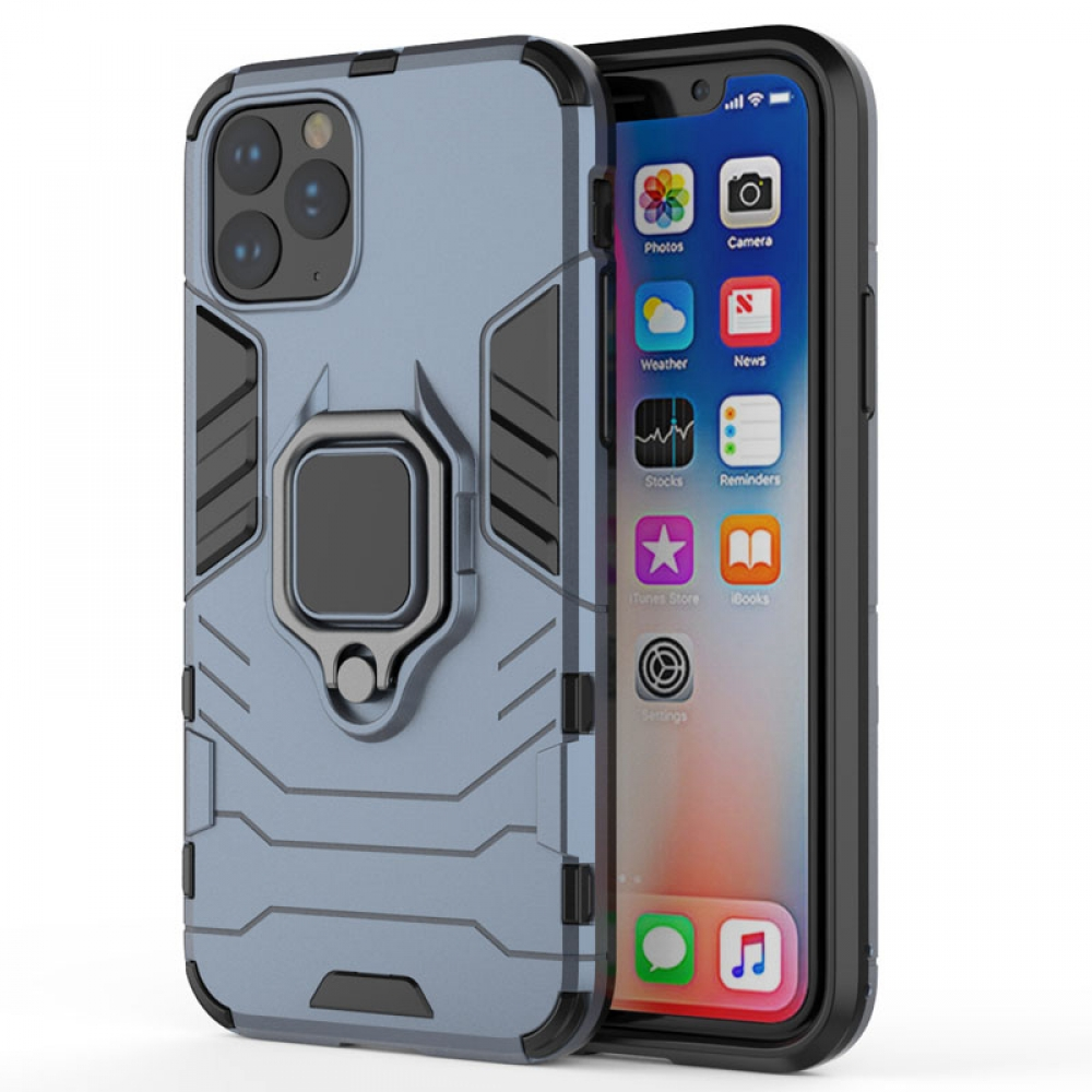 10% OFF + FREE SHIPPING, Buy the BEST PDair Premium Protective Carrying iPhone 11 Pro Armor Protective Case With Metal Magnetic Ring (Blue). Exquisitely designed engineered for iPhone 11 Pro.