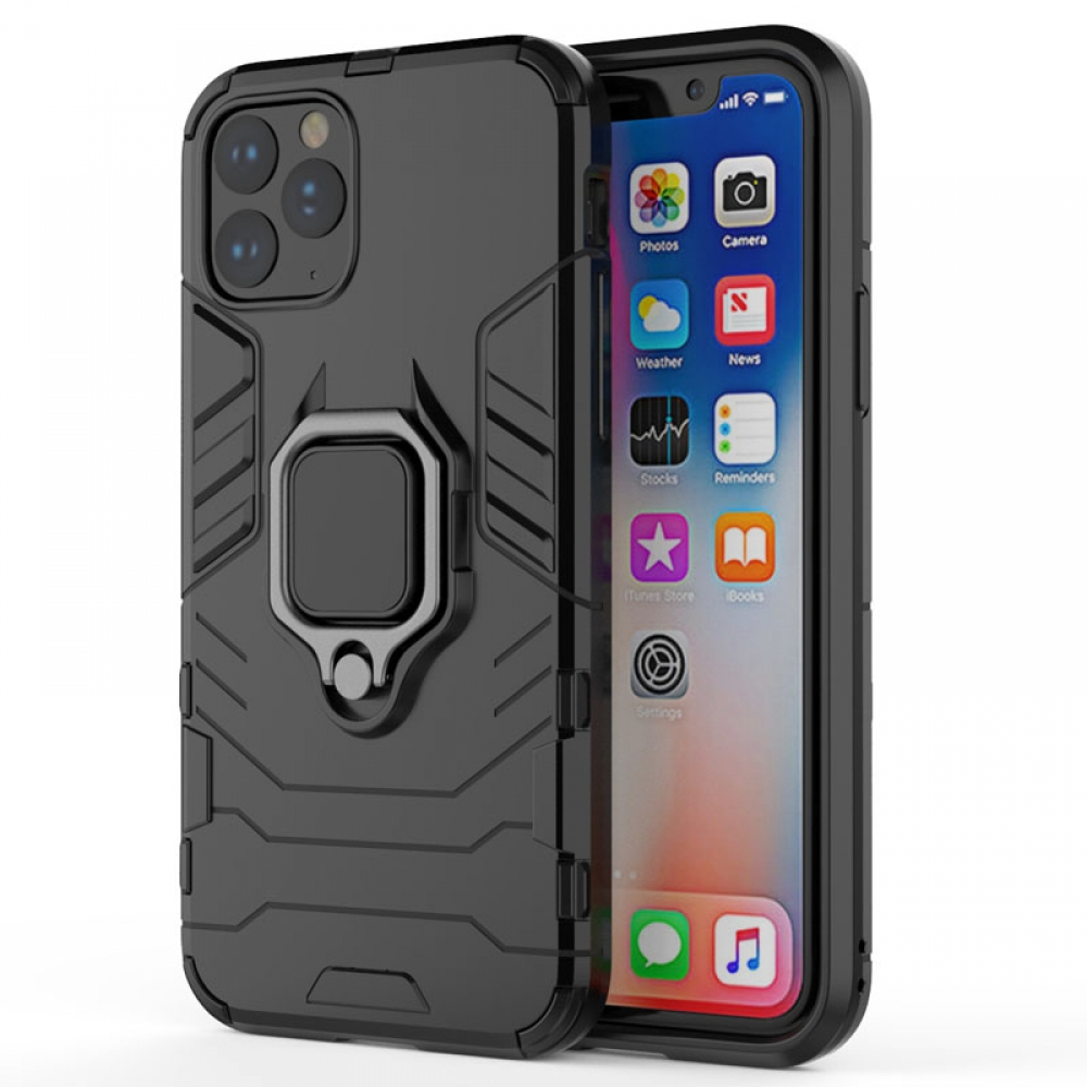 10% OFF + FREE SHIPPING, Buy the BEST PDair Premium Protective Carrying iPhone 11 Pro Max Armor Protective Case With Metal Magnetic Ring (Black). Exquisitely designed engineered for iPhone 11 Pro Max.