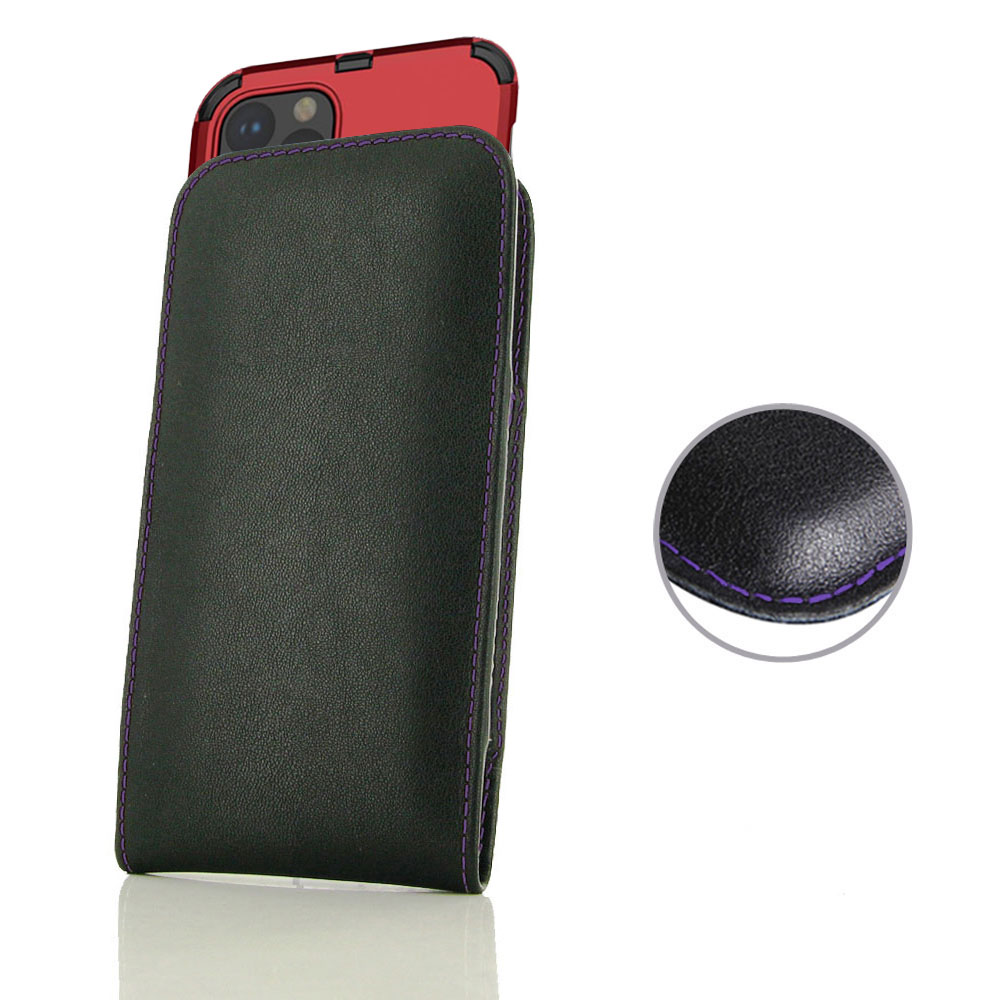 10% OFF + FREE SHIPPING, Buy the BEST PDair Handcrafted Premium Protective Carrying Apple iPhone 11 Pro (in Large Size Cover) Pouch Case (Purple Stitch). Exquisitely designed engineered for Apple iPhone 11 Pro.