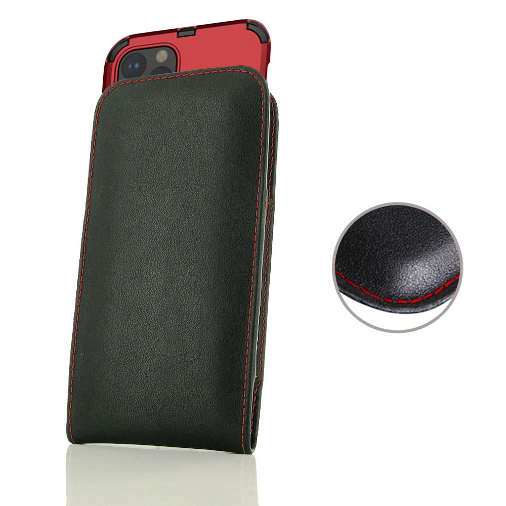 10% OFF + FREE SHIPPING, Buy the BEST PDair Handcrafted Premium Protective Carrying Apple iPhone 11 Pro (in Large Size Cover) Pouch Case (Red Stitch). Exquisitely designed engineered for Apple iPhone 11 Pro.