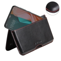10% OFF + FREE SHIPPING, Buy the BEST PDair Handcrafted Premium Protective Carrying HTC Desire 19s Leather Wallet Pouch Case (Red Stitch). Exquisitely designed engineered for HTC Desire 19s.