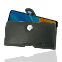 Leather Horizontal Pouch Case with Belt Clip for Huawei Enjoy 10