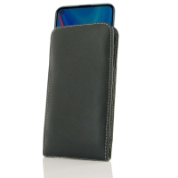 Leather Vertical Pouch Case for Huawei Enjoy 10