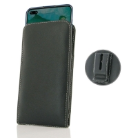 Leather Vertical Pouch Belt Clip Case for Huawei Honor V30 Pro