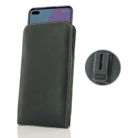 Leather Vertical Pouch Belt Clip Case for Huawei Nova 6 5G
