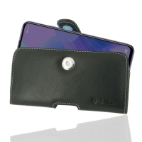 Leather Horizontal Pouch Case with Belt Clip for Huawei Nova 6