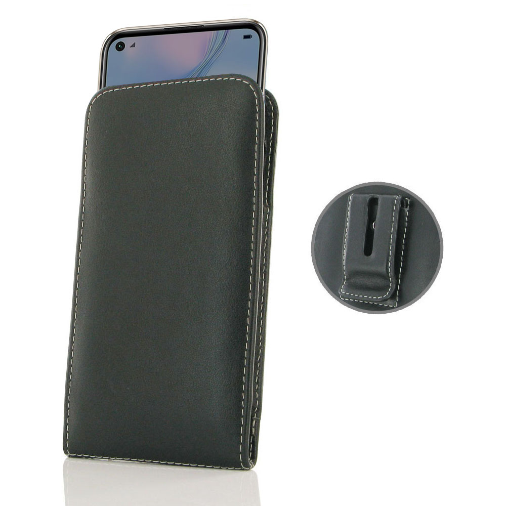 10% OFF + FREE SHIPPING, Buy the BEST PDair Handcrafted Premium Protective Carrying Huawei Nova 6 SE Pouch Case with Belt Clip. Exquisitely designed engineered for Huawei Nova 6 SE.