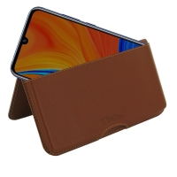 10% OFF + FREE SHIPPING, Buy the BEST PDair Handcrafted Premium Protective Carrying Huawei Y6s (2019) Leather Wallet Pouch Case (Brown). Exquisitely designed engineered for Huawei Y6s (2019).
