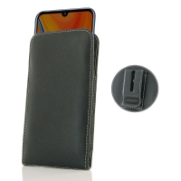 Leather Vertical Pouch Belt Clip Case for Huawei Y6s (2019)