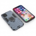 iPhone 11 Pro Max Armor Protective Case With Metal Magnetic Ring (Black) handmade leather case by PDair