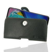 Leather Horizontal Pouch Case with Belt Clip for Motorola Moto G Power