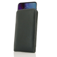 Leather Vertical Pouch Case for Motorola Moto G Stylus