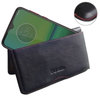 10% OFF + FREE SHIPPING, Buy the BEST PDair Handcrafted Premium Protective Carrying Motorola Moto G8 Play Leather Wallet Pouch Case (Red Stitch). Exquisitely designed engineered for Motorola Moto G8 Play.