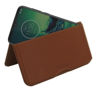 10% OFF + FREE SHIPPING, Buy the BEST PDair Handcrafted Premium Protective Carrying Motorola Moto G8 Plus Leather Wallet Pouch Case (Brown). Exquisitely designed engineered for Motorola Moto G8 Plus.