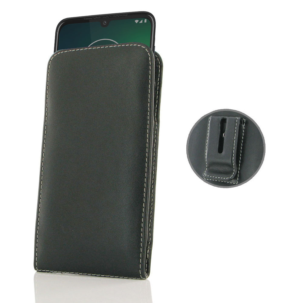 10% OFF + FREE SHIPPING, Buy the BEST PDair Handcrafted Premium Protective Carrying Motorola Moto G8 Plus Pouch Case with Belt Clip. Exquisitely designed engineered for Motorola Moto G8 Plus.