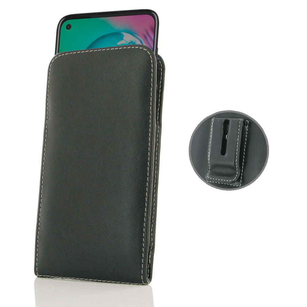 10% OFF + FREE SHIPPING, Buy the BEST PDair Handcrafted Premium Protective Carrying Motorola Moto G8 Power Pouch Case with Belt Clip. Exquisitely designed engineered for Motorola Moto G8 Power.