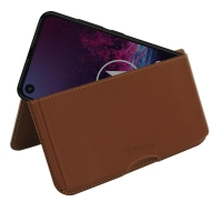 10% OFF + FREE SHIPPING, Buy the BEST PDair Handcrafted Premium Protective Carrying Motorola One Action Leather Wallet Pouch Case (Brown). Exquisitely designed engineered for Motorola One Action.