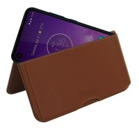 10% OFF + FREE SHIPPING, Buy the BEST PDair Handcrafted Premium Protective Carrying Motorola One Vision Leather Wallet Pouch Case (Brown). Exquisitely designed engineered for Motorola One Vision.