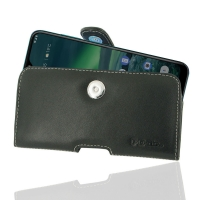 Leather Horizontal Pouch Case with Belt Clip for Nokia 2.3