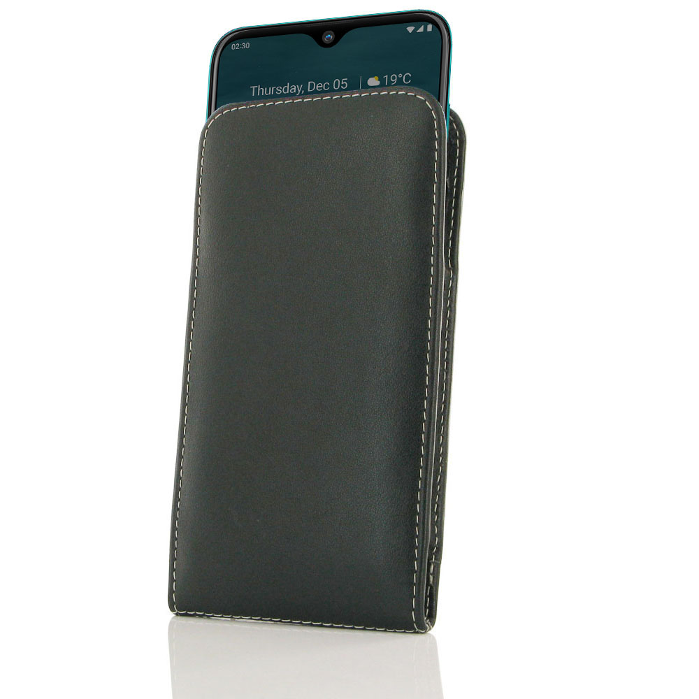 10% OFF + FREE SHIPPING, Buy the BEST PDair Handcrafted Premium Protective Carrying Nokia 2.3 Leather Sleeve Pouch Case. Exquisitely designed engineered for Nokia 2.3.