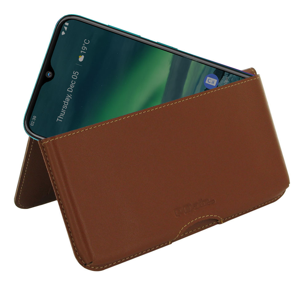 10% OFF + FREE SHIPPING, Buy the BEST PDair Handcrafted Premium Protective Carrying Nokia 2.3 Leather Wallet Pouch Case (Brown). Exquisitely designed engineered for Nokia 2.3.