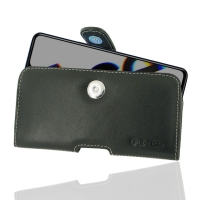 Leather Horizontal Pouch Case with Belt Clip for OPPO Reno Ace