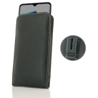 Leather Vertical Pouch Belt Clip Case for OPPO Reno Ace
