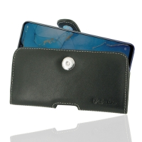 Leather Horizontal Pouch Case with Belt Clip for OPPO Reno3