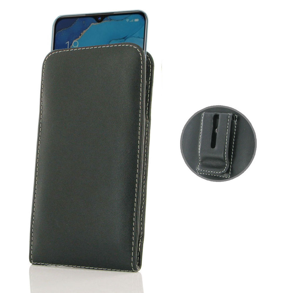 10% OFF + FREE SHIPPING, Buy the BEST PDair Handcrafted Premium Protective Carrying OPPO Reno3 Pouch Case with Belt Clip. Exquisitely designed engineered for OPPO Reno3.