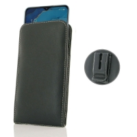 Leather Vertical Pouch Belt Clip Case for OPPO Reno3