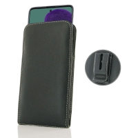 Leather Vertical Pouch Belt Clip Case for Samsung Galaxy A51
