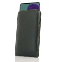 Leather Vertical Pouch Case for Samsung Galaxy A51