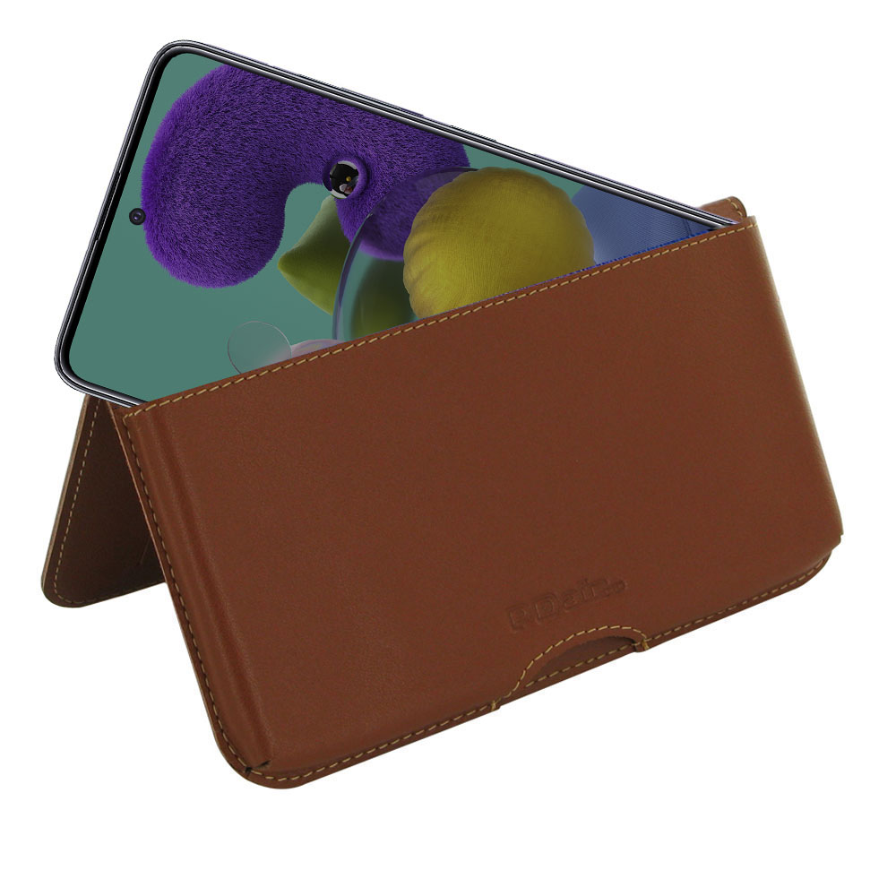 10% OFF + FREE SHIPPING, Buy the BEST PDair Handcrafted Premium Protective Carrying Samsung Galaxy A51 Leather Wallet Pouch Case (Brown). Exquisitely designed engineered for Samsung Galaxy A51.