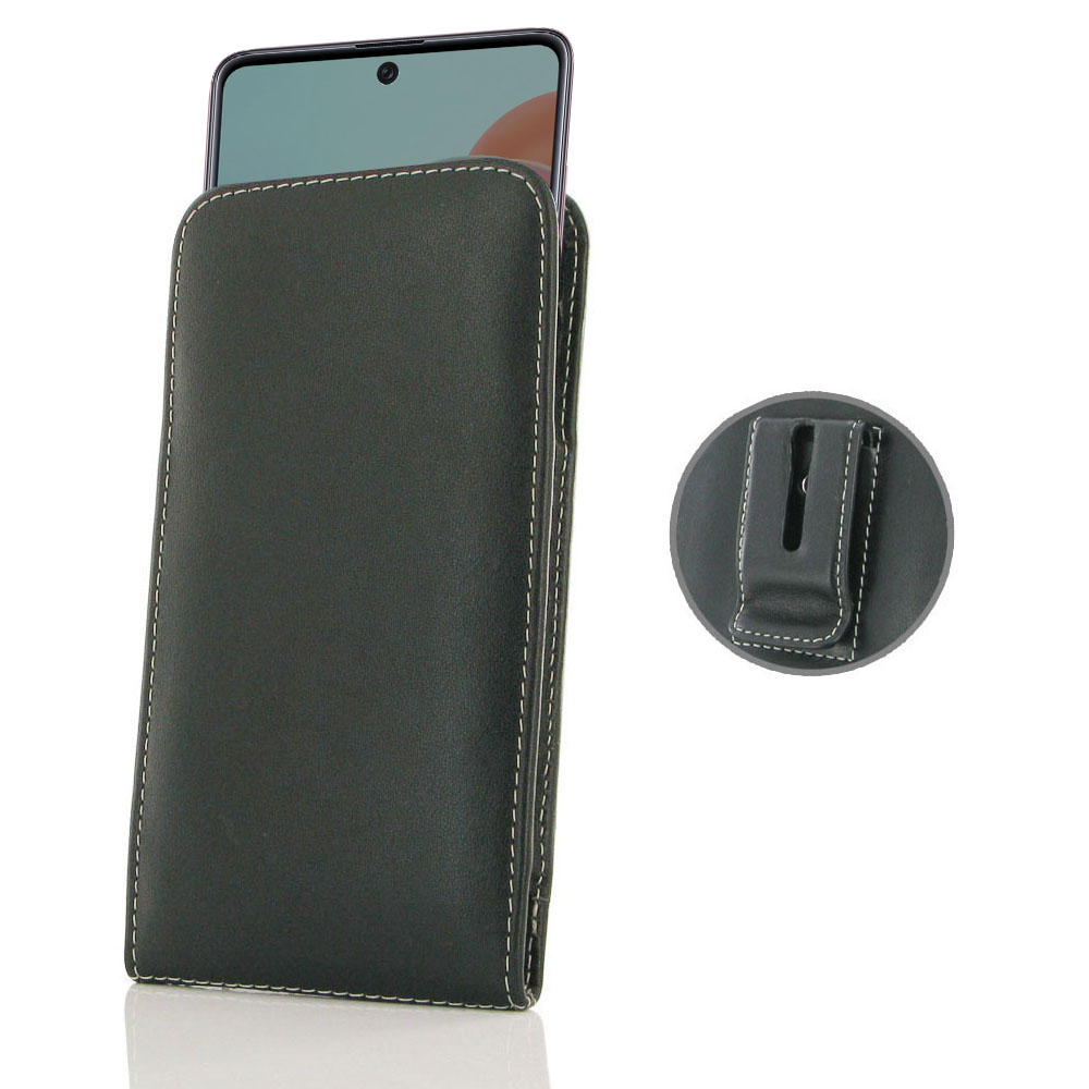 10% OFF + FREE SHIPPING, Buy the BEST PDair Handcrafted Premium Protective Carrying Samsung Galaxy A71 Pouch Case with Belt Clip. Exquisitely designed engineered for Samsung Galaxy A71.