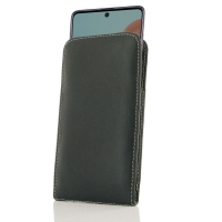 Leather Vertical Pouch Case for Samsung Galaxy A71