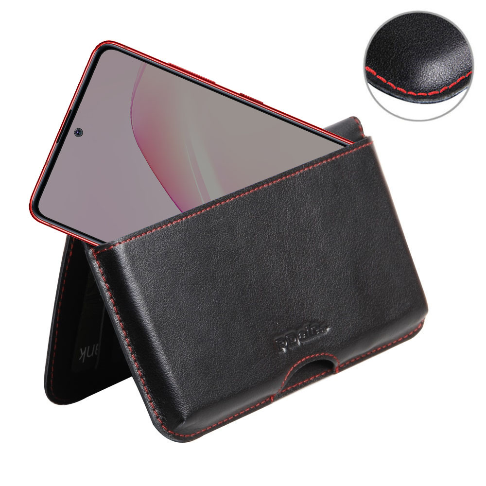 10% OFF + FREE SHIPPING, Buy the BEST PDair Handcrafted Premium Protective Carrying Samsung Galaxy Note 10 Lite Leather Wallet Pouch Case (Red Stitch). Exquisitely designed engineered for Samsung Galaxy Note 10 Lite.