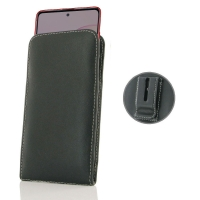 Leather Vertical Pouch Belt Clip Case for Samsung Galaxy Note 10 Lite