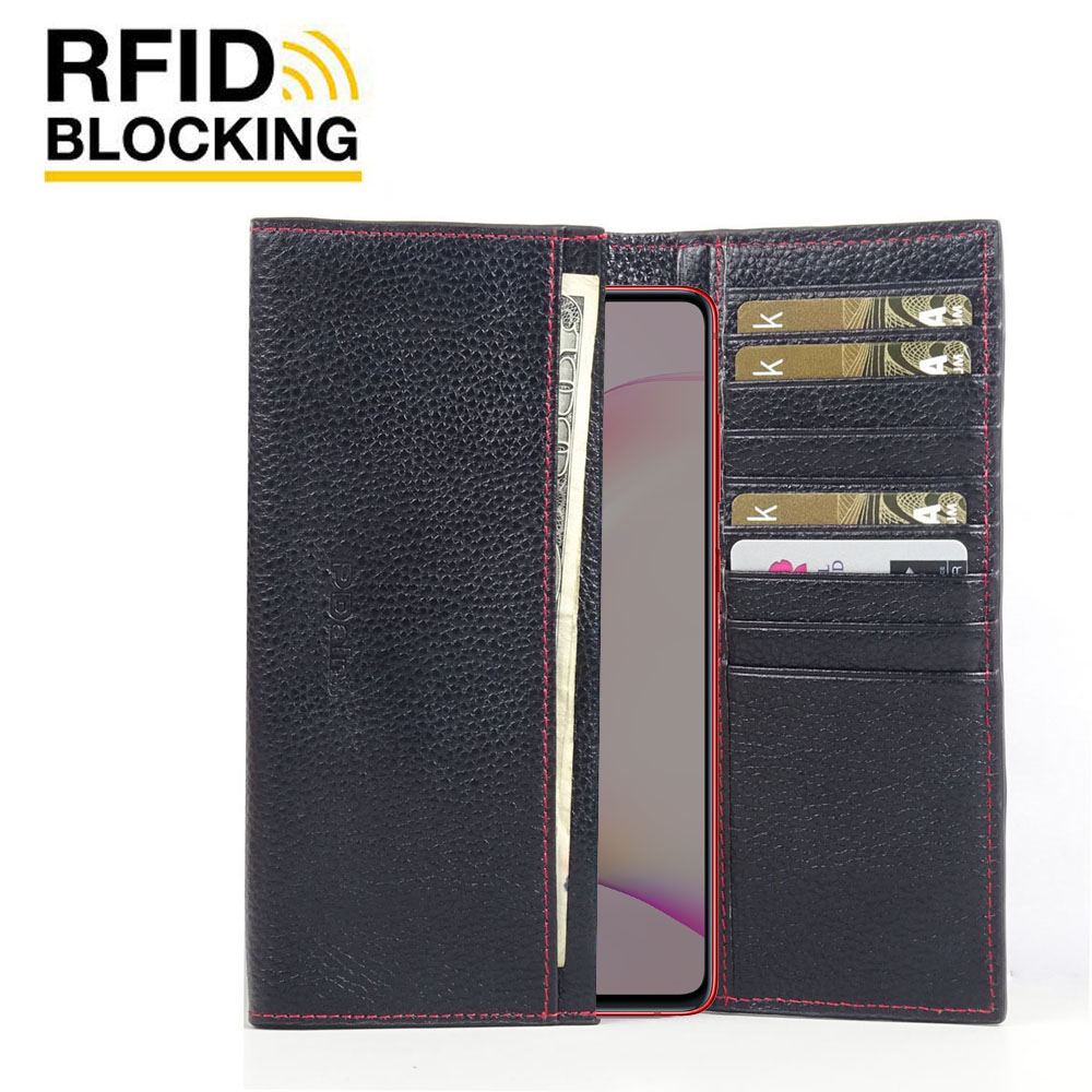 10% OFF + FREE SHIPPING, Buy the BEST PDair Handcrafted Premium Protective Carrying Samsung Galaxy Note 10 Lite Leather Continental Sleeve Wallet (Red Stitching). Exquisitely designed engineered for Samsung Galaxy Note 10 Lite.