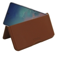10% OFF + FREE SHIPPING, Buy the BEST PDair Handcrafted Premium Protective Carrying Samsung Galaxy S10 Lite Leather Wallet Pouch Case (Brown). Exquisitely designed engineered for Samsung Galaxy S10 Lite.