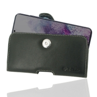 Leather Horizontal Pouch Case with Belt Clip for Samsung Galaxy S20 (in Slim Case/Cover)