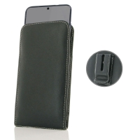Leather Vertical Pouch Belt Clip Case for Samsung Galaxy S20 (in Slim Case/Cover)
