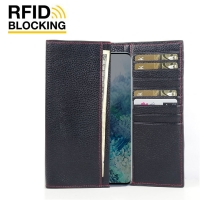 10% OFF + FREE SHIPPING, Buy the BEST PDair Handcrafted Premium Protective Carrying Samsung Galaxy S20 Plus 5G Leather Continental Sleeve Wallet (Red Stitching). Exquisitely designed engineered for Samsung Galaxy S20 Plus 5G.