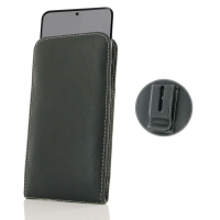 Leather Vertical Pouch Belt Clip Case for Samsung Galaxy S20