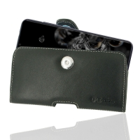 Leather Horizontal Pouch Case with Belt Clip for Samsung Galaxy S20 Ultra (in Slim Case/Cover)