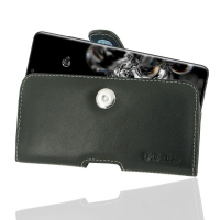 Leather Horizontal Pouch Case with Belt Clip for Samsung Galaxy S20 Ultra