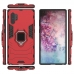 Armor Protective Case With Metal Magnetic Ring for Samsung Galaxy Note 10 Plus | Samsung Note 10+ (Red)