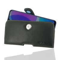 Leather Horizontal Pouch Case with Belt Clip for ViVO U3